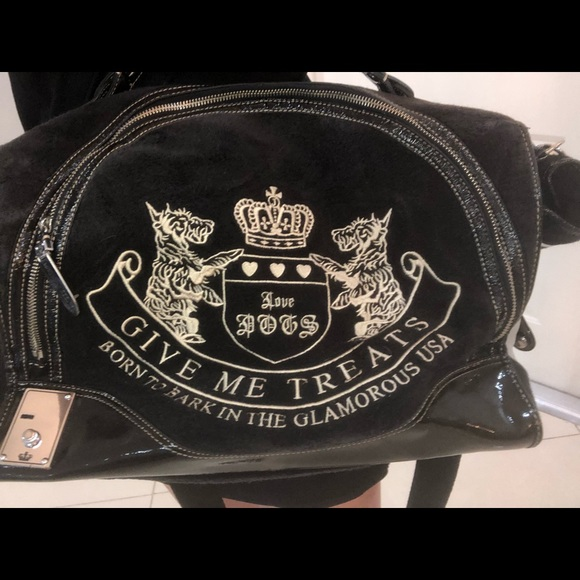 Juicy Couture Handbags - Juicy couture dog carrier